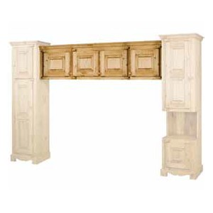 LIT PONT FARMER ELEMENT HAUT 4 PORTES