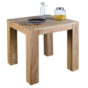 Table carrée 80 x 80 - Bornéo Casita