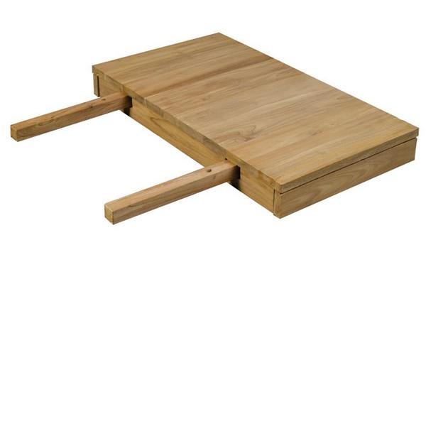allonge table bois. Black Bedroom Furniture Sets. Home Design Ideas