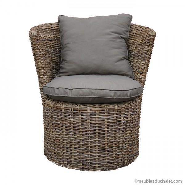 fauteui kubu tresse assise tissu. Black Bedroom Furniture Sets. Home Design Ideas