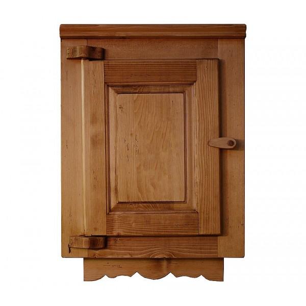 element cuisine bois massif avec frise. Black Bedroom Furniture Sets. Home Design Ideas