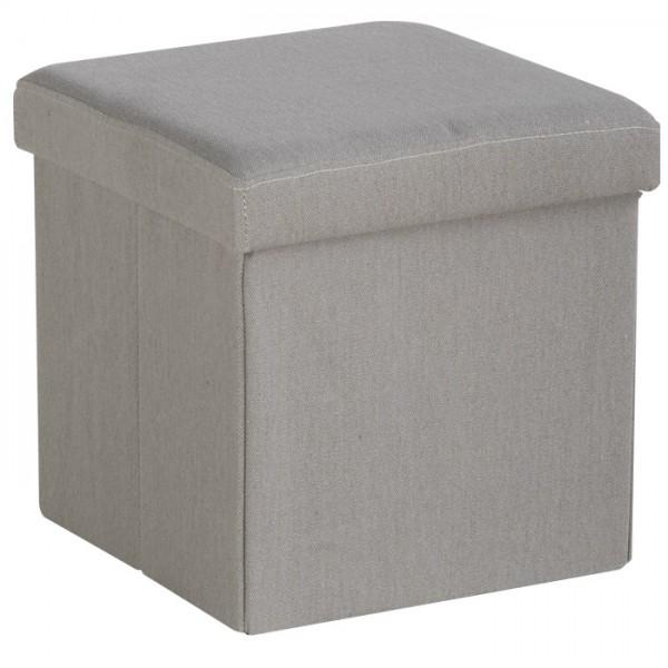 pouf coffre folding sofacasa tissu. Black Bedroom Furniture Sets. Home Design Ideas