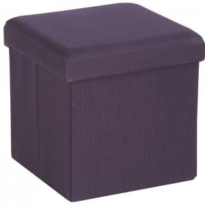 banc coffre tissu sofacasa. Black Bedroom Furniture Sets. Home Design Ideas