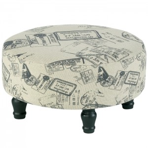 POUF ROND PICADILLY SOFACASA