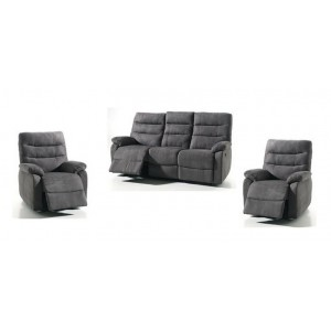 salon 3 1 1 cameo avec relax electrique conforluxe. Black Bedroom Furniture Sets. Home Design Ideas