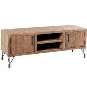 meuble tv 2 portes 2 niches motown casita. Black Bedroom Furniture Sets. Home Design Ideas
