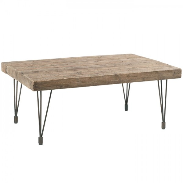Table basse rectangulaire petit mod le motown casita - Modele table basse ...