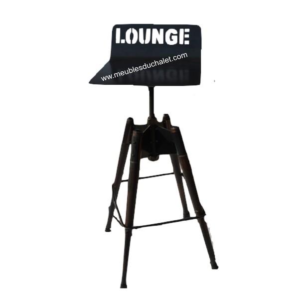tabouret de bar lounge