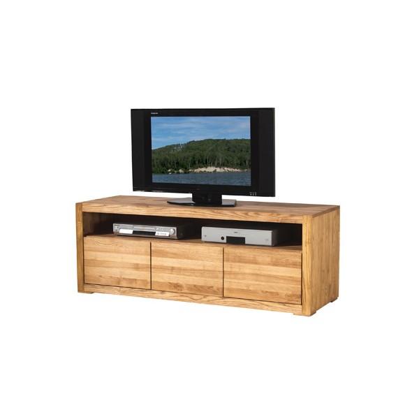 Meuble tv 2 portes 1 tiroir 1 niche hartland casita for Meuble 2 portes 2 tiroirs