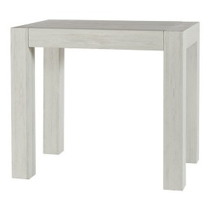 TABLE MANGE DEBOUT  KENDALL CASITA PIN MASSIF LASURE BLANC