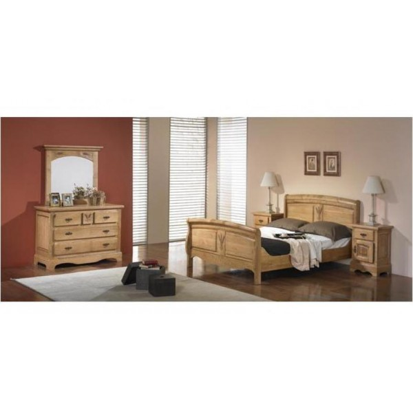 commode ardeche chene massif les meubles du chalet. Black Bedroom Furniture Sets. Home Design Ideas