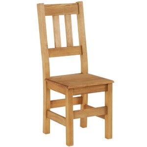 Chaise à barettes dessus bois - Brunswick Casita