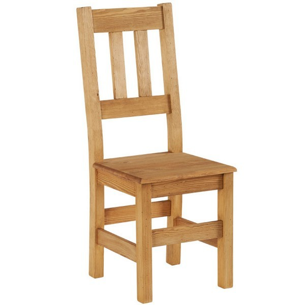 chaise barettes dessus bois brunswick casita. Black Bedroom Furniture Sets. Home Design Ideas