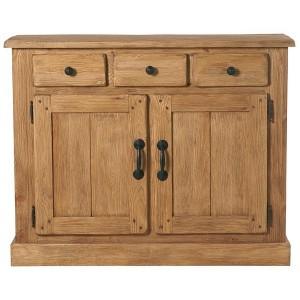 bahut 2 portes 2 tiroirs lodge casita. Black Bedroom Furniture Sets. Home Design Ideas