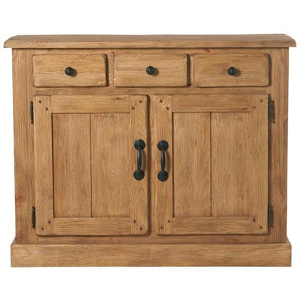 bahut 2 portes 3 tiroirs cottage casita. Black Bedroom Furniture Sets. Home Design Ideas