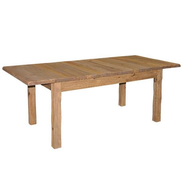 table rectangulaire allonge centrale cottage casita. Black Bedroom Furniture Sets. Home Design Ideas
