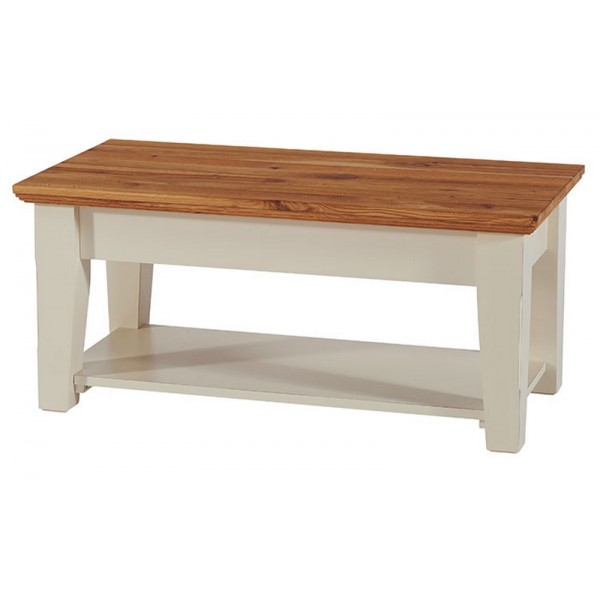 Table basse double plateau upson casita - Table basse plateau montant ...