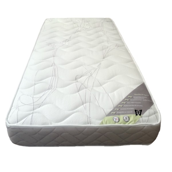 matelas 140 x 190 mousse 37 kg m3 h r les meubles du chalet. Black Bedroom Furniture Sets. Home Design Ideas