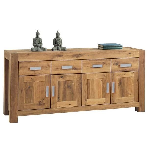 bahut 4 portes 4 tiroirs ewing casita. Black Bedroom Furniture Sets. Home Design Ideas