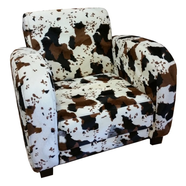 fauteuil golf d cor vache. Black Bedroom Furniture Sets. Home Design Ideas