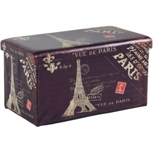 Banc coffre rectangulaire Paris - Sofacasa
