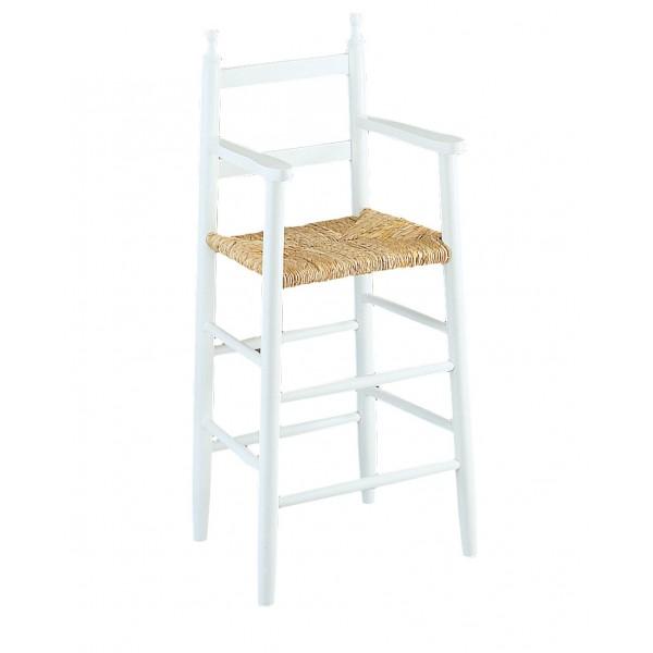 chaise haute enfant laqu e blanc. Black Bedroom Furniture Sets. Home Design Ideas