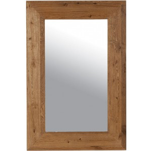 Miroir rectangulaire chêne massif Harvey - Casita