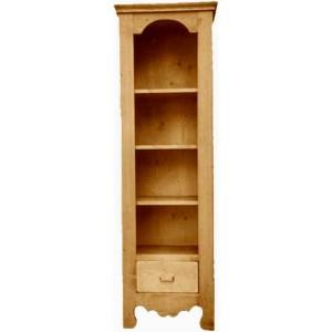 Bibliothèque 1 tiroir 3 étagères - Cœur de Montagne