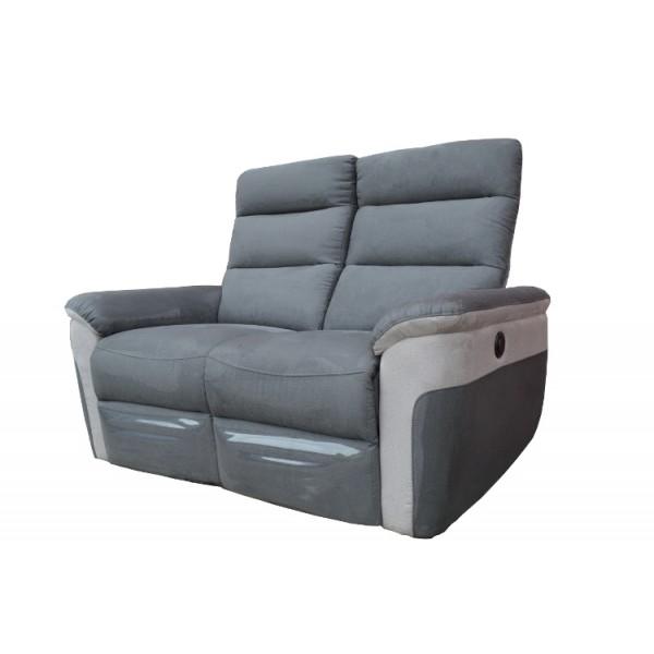 canap livina 2 places 2 relax lectriques. Black Bedroom Furniture Sets. Home Design Ideas