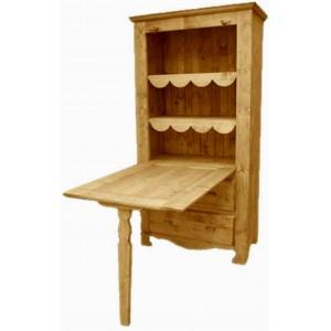 Table de Berger 1 porte 2 tiroirs - Cœur de Montagne