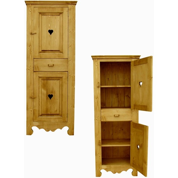 homme debout 2 portes 1 tiroir c ur de montagne. Black Bedroom Furniture Sets. Home Design Ideas