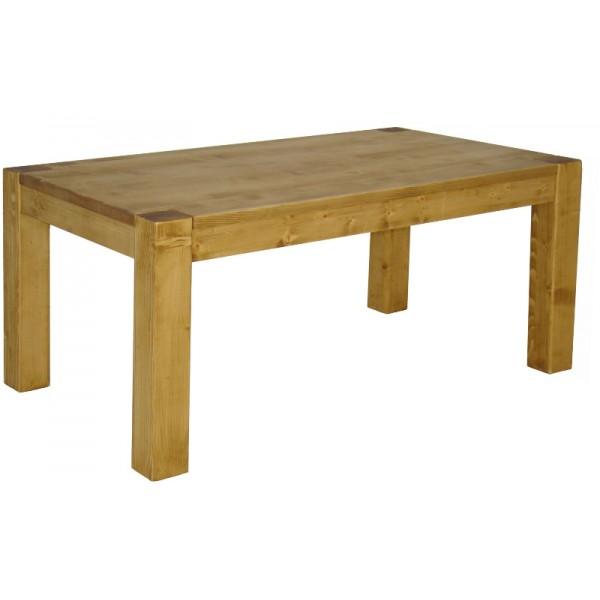 table rectangulaire 200cm pin massif scandinavia. Black Bedroom Furniture Sets. Home Design Ideas