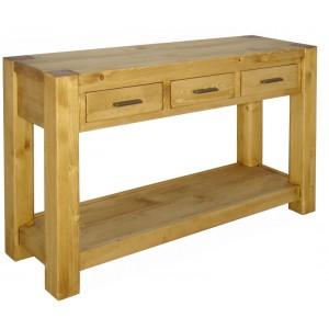 console les meubles du chalet. Black Bedroom Furniture Sets. Home Design Ideas