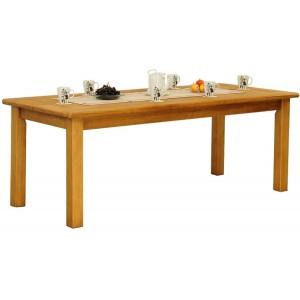 Table rectangulaire 200x90 pieds carrés - Charolles