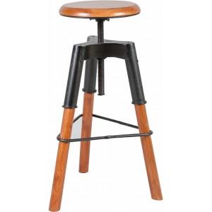tabouret de bar les meubles du chalet. Black Bedroom Furniture Sets. Home Design Ideas