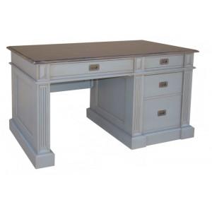 Bureau 4 tiroirs Quercy 2 tons