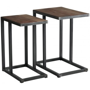 Lot de 2 tables déco  - Woodstock Casita