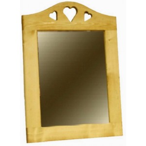 Miroirs les meubles du chalet for Encadrement miroir