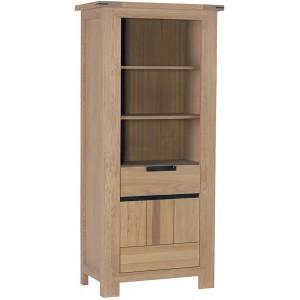 Colonne bibliothèque 1 porte 1 tiroir - Cuneo Casita