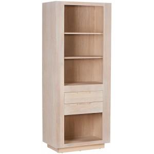 Colonne 2 étagères 2 tiroirs 1 niche - Manufacture Casita