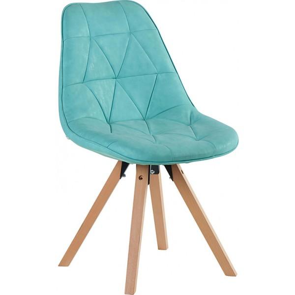 chaise contemporaine de couleur bleue chayate casita. Black Bedroom Furniture Sets. Home Design Ideas