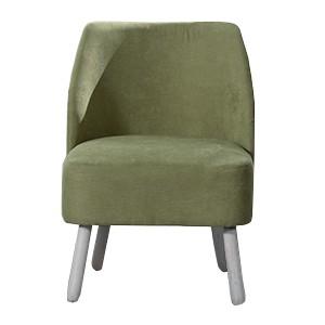 Fauteuil tissu terracotta vert - Somero Sofacasa