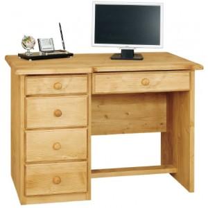 Bureau informatique 4 tiroirs 5 tiroirs - Val Thorens