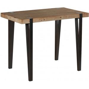 Mange debout les meubles du chalet - Mange debout bois metal ...