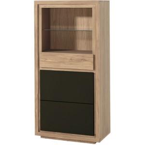 Étagère 1 porte 1 tiroir 1 étagère vitrée - Bunbury Casita