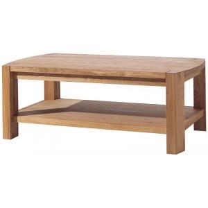 Table basse double plateau chêne huilé - Hasley Casita