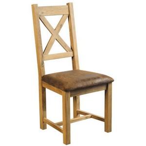 Chaise bistrot casita les meubles du chalet for Chaise de salle a manger en chene massif recouvert de tissu