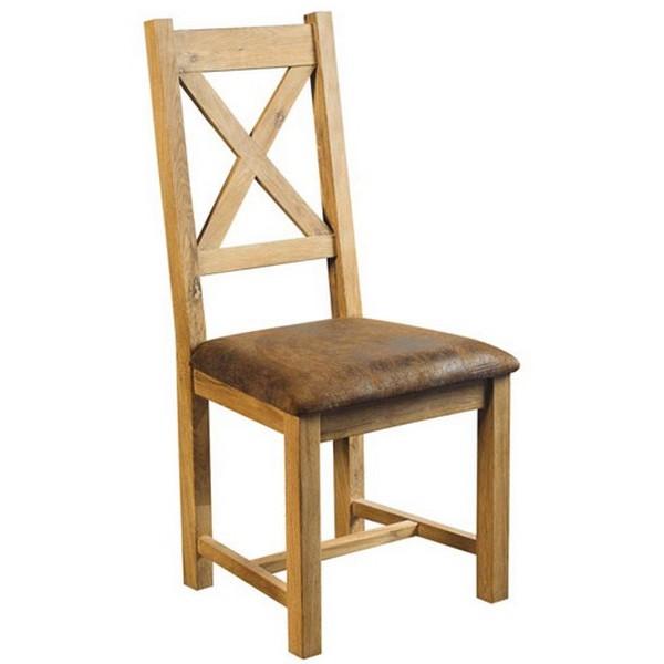 chaise chene massif assise tissu microfibre lodge casita. Black Bedroom Furniture Sets. Home Design Ideas