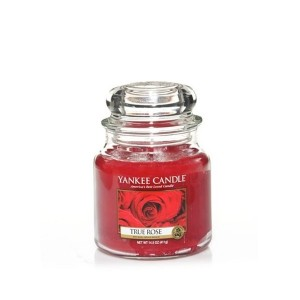 MOYENNE JARRE TRUE ROSE (Rose véritable) YANKEE CANDLE