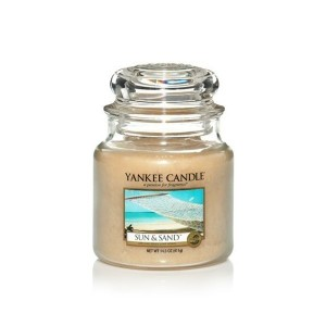 MOYENNE JARRE SUN AND SAND (Soleil et sable) YANKEE CANDLE